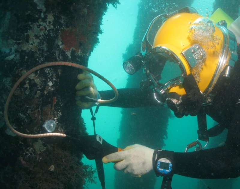 NDT courses also with UNDERWATER APPLICATIONS
